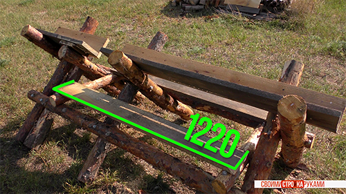 козлы для резки дров как сделать своими руками